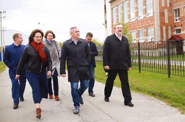 Александр Моор побывал с рабочим визитом в Уватском районе