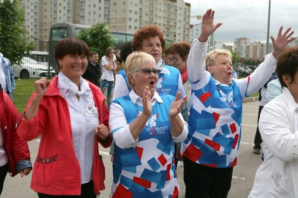 Помимо Калининграда, в этот день, такая акция прошла более чем в тридцати российских городах.