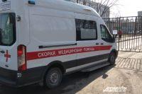 В результате аварии водитель ВАЗа получил закрытый перелом грудной клетки.
