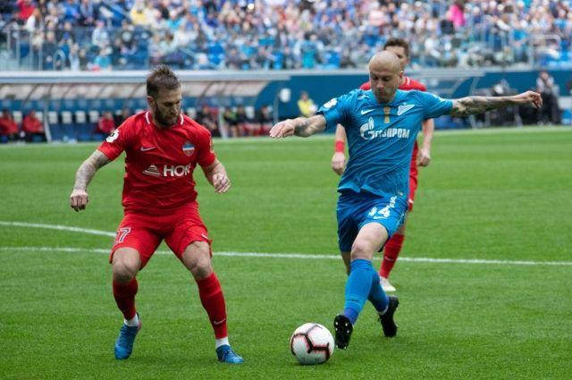 Красноярский край занял последнее место в трнирной таблице Премьер-лиги.