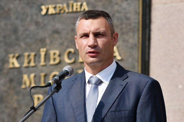 Мэр города Киева Виталий Кличко.