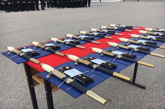 В военно-морской академии состоялся 21-й выпуск мичманов
