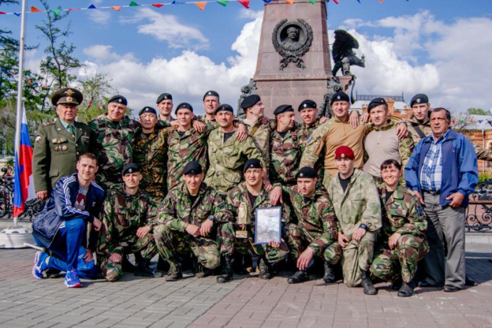 Командир ангарского ОМОНа Юрий Кузьмин: «Победа не случайна, мы к ней шли целенаправленно и готовились».