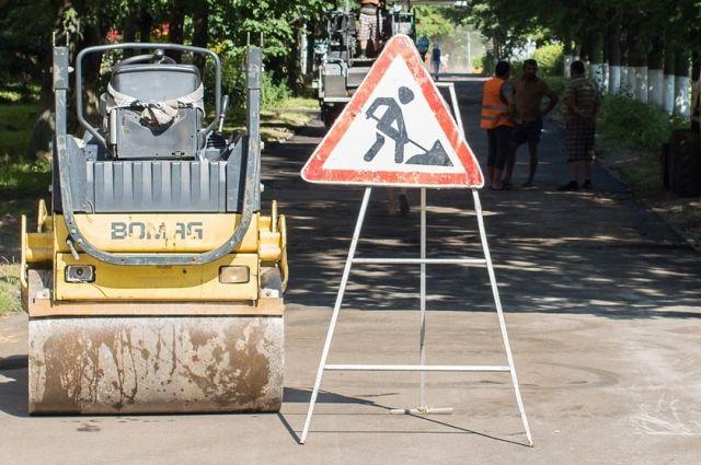 На улице Дзержинского в Ижевске начался ремонт дороги