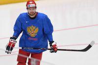 Игрок сборной России Евгений Кузнецов.