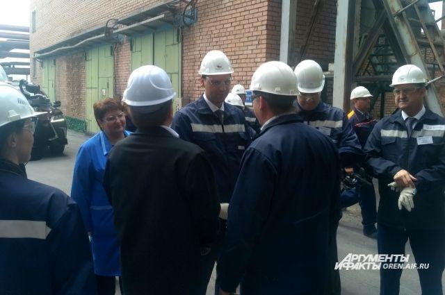 Денис Паслер работает на востоке Оренбургской области.