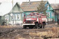 Пожаров на территории области стало намного больше