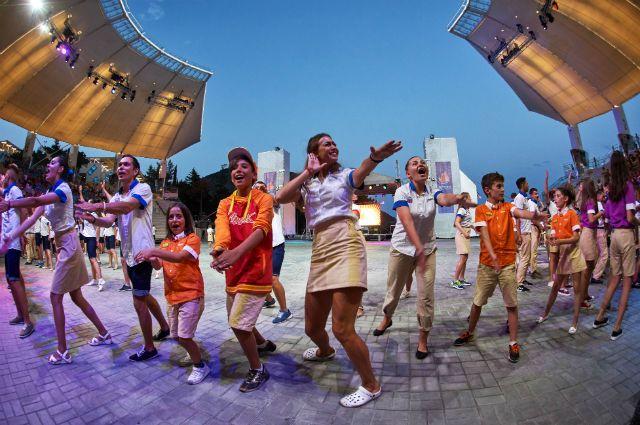 В «Артек» на бюджетные места организован конкурсный отбор.