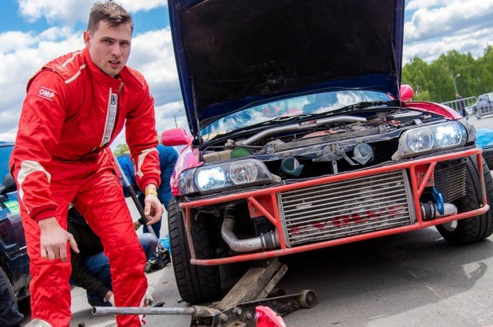 Павел Конусов, Toyota chaser jzx100 (г. Екатеринбург). В квалификации 4 место