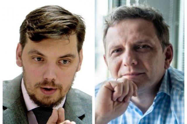 Алексей Гончарук и Олег Устенко.