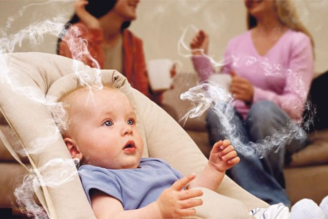Люди, вдыхающие дым, страдают даже больше, чем сам курильщик.