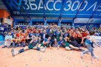 Волейбольный клуб «Кузбaсс» впервые в истории стал победителем чемпионата России в 2019 г.