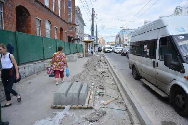 Ремонт тротуаров в Туле.