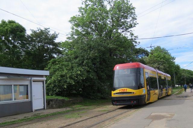 На улицы Калининграда вернулся трамвай Pesa
