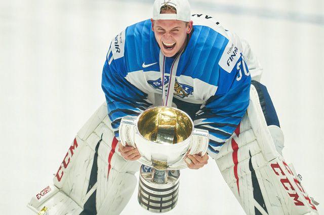 Вратарь сборной Финляндии.
