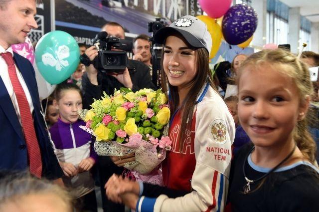 Елена Исинбаева назвала Алину Загитову любимой фигуристкой