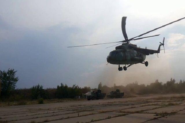 В результате падения военного вертолета Ми-8 в Ровенской области погибли четыре человек.