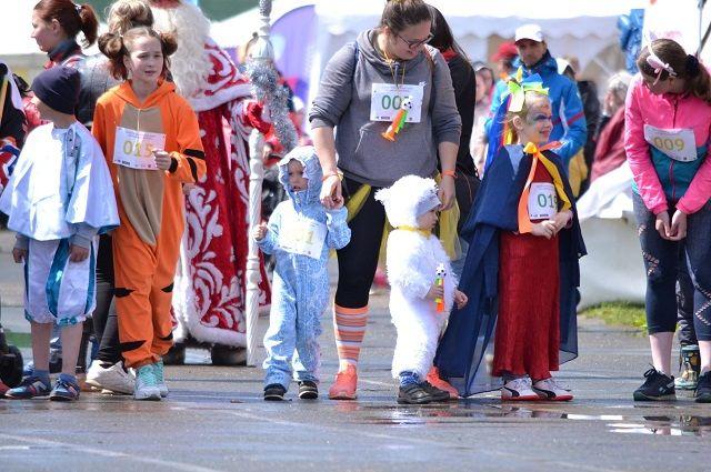 В 13.30 старнут FUN-RUN, забег на 400 метров в смешных костюмах