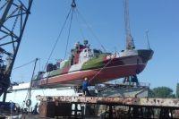 В Измаиле отремонтировали корабль морской охраны «Лубны»