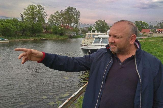 Виктор Лидер: «Гости могли бы приходить в посёлок на яхтах».
