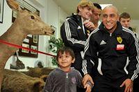 Экс-игрок ФК «Анжи» и сборной Бразилии Роберто Карлос.