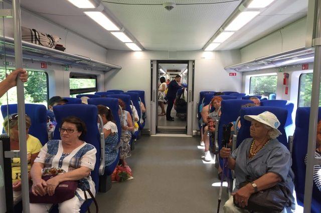 Поезда «Ласточка» за год перевезли почти 3 млн человек в регионе