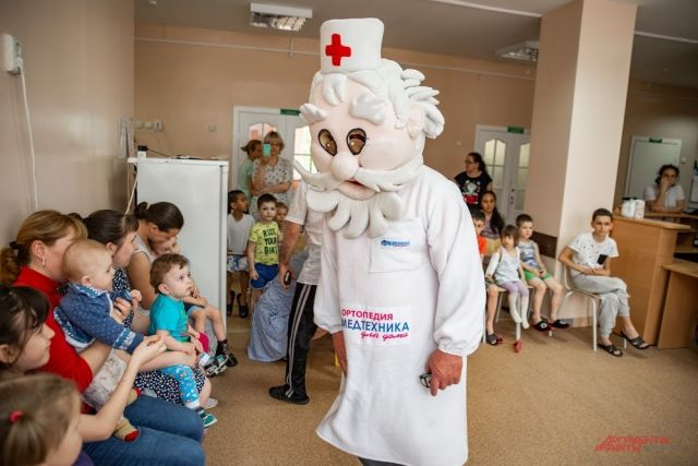 Праздник для маленьких пациентов