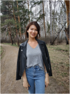 Александра Циулина, 28 лет. Помощник руководителя ООО «Фэмэли». Хобби: визаж.