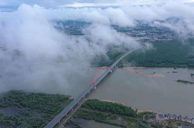 Известный фотограф снял Новосибирск после дождя с высоты птичьего полета