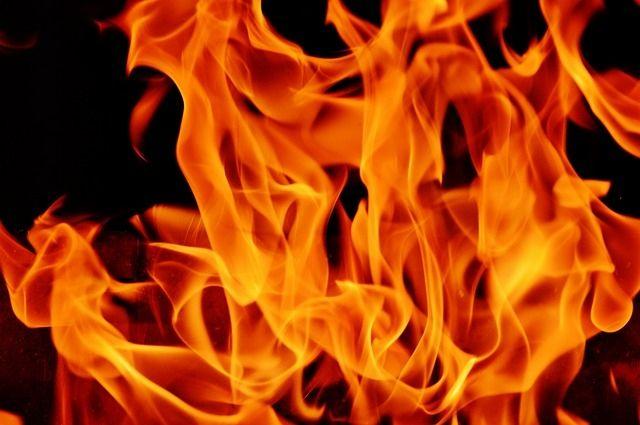По предварительным данным, причиной пожара послужило короткое замыкание электропроводки.