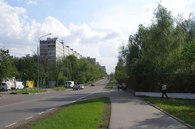 Улица Академика Волгина.