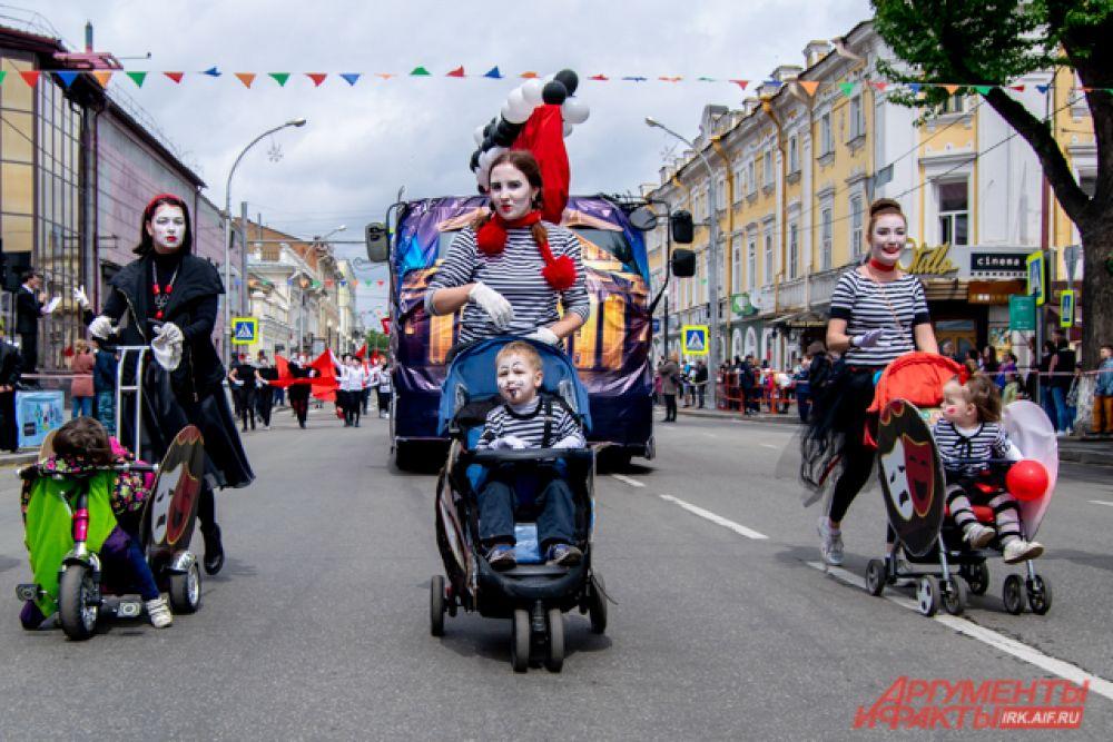 «Приз зрительских симпатий» достался колонне портала для родителей Иркутска и области 38mama.ru