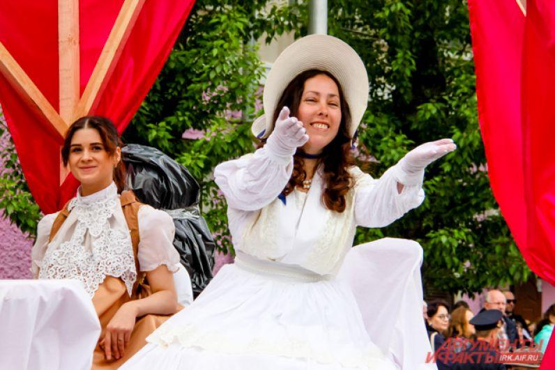 Во время карнавала театралы разыгрывали целые представления