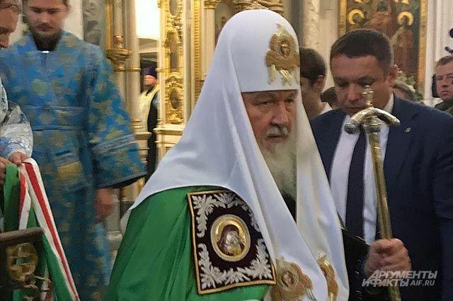 Патриарх Кирилл посетит Калининградскую область