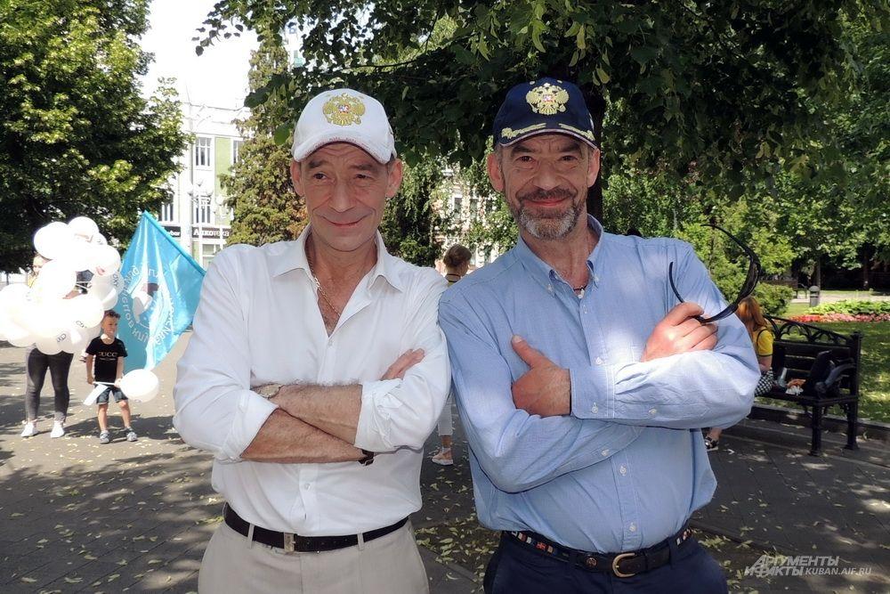 Специальными гостями праздника стали братья Юрий и Владимир Торсуевы, сыгравшие главные роли в фильме «Приключения Электроника».