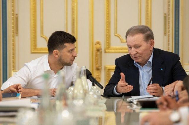 Зеленский вернул Кучму представителем Украины на Минских переговорах