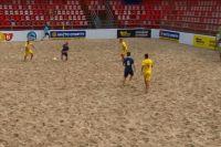 Команда АиФ.ua по пляжному футболу начала с поражения чемпионат Киева 2019