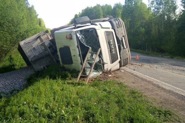 Водитель не получил серьёзных травм.