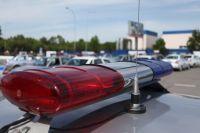 Следователи работают на месте убийства полицейских Ноябрьска