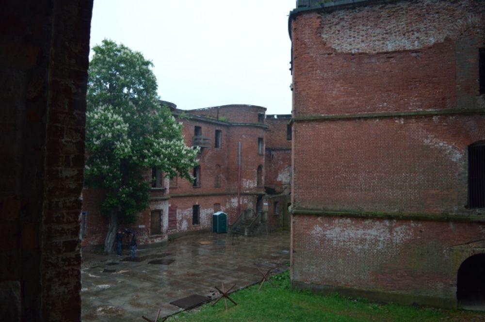 Форт Кронштадта изнутри.