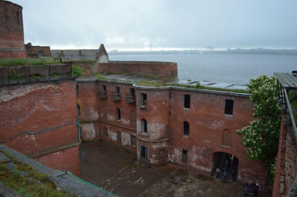 Форты Кронштадта имеют богатую военную историю.