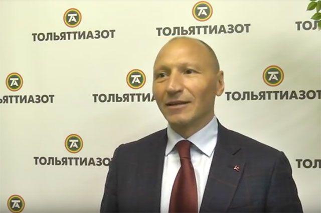 Председатель правления АО «Тольяттихимбанк» Александр Попов.
