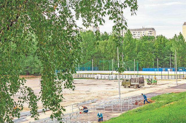 Вопрос выбора названия для местного стадиона вынесен на голосование. Пока больше всего голосов за название «Черёмушки».