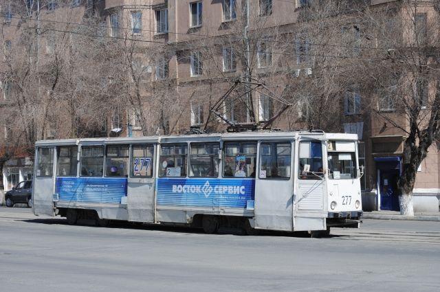 Пассажирке трамвая стало плохо.