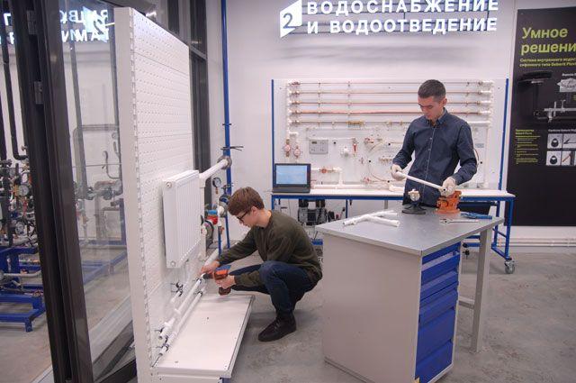 Студенты КГАСУ проходят обучение в центре технологий ЖКХ Sistems.
