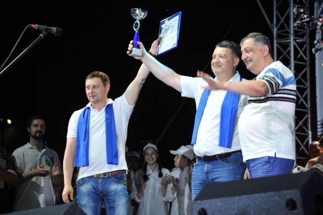 Церемония награждения победителей форума-фестиваля.