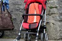 Житель Тобольска спонтанно украл детскую коляску из подъезда