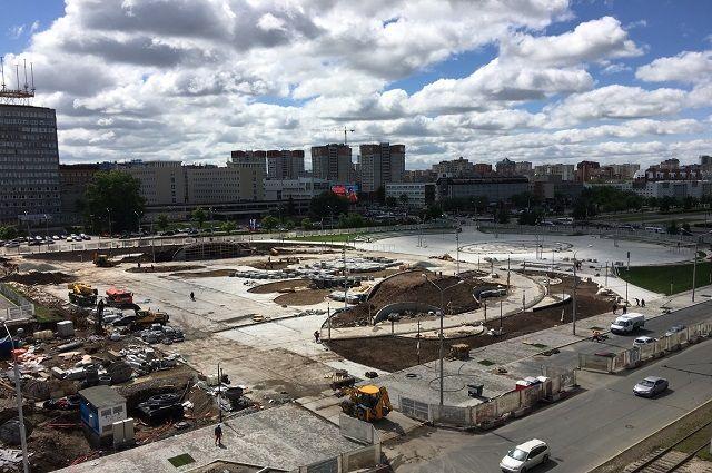 Общий бюджет проекта реконструкции эспланады вместе с благоустройством территории - 400 млн руб. (средства города, края и инвестора).