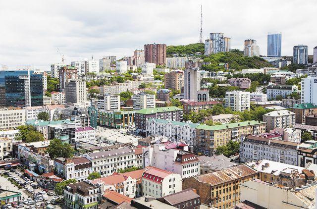 Столица Дальнего Востока уверенно смотрит в будущее.