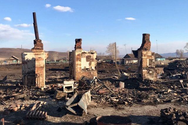 К осени недалеко от сгоревшего села появятся новые дома, и снова закипит жизнь.